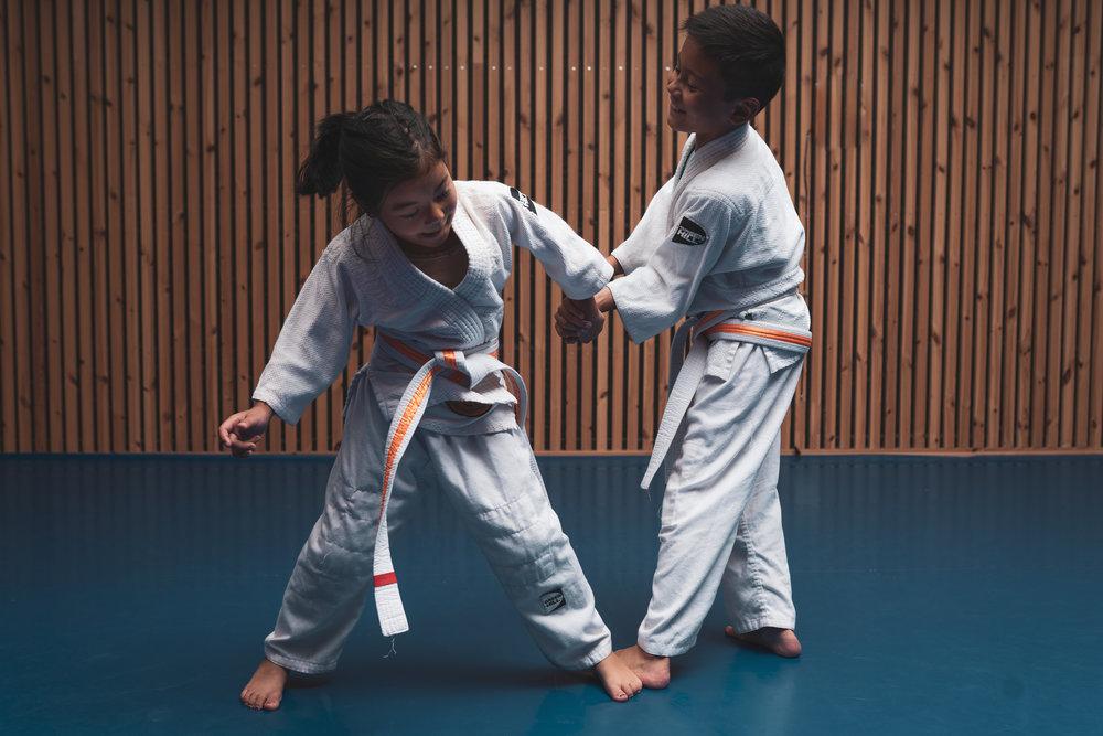 Vårt mål - VI har som klubb mål om å skape et miljø for både treningsglede og talentbygging. Vi legger opp treninger, konkurranser og arrangementer for å skape og dele gode opplevelser gjennom samhold. SElv om judo er en individuell idrett, stiller vi alltid som et lag.
