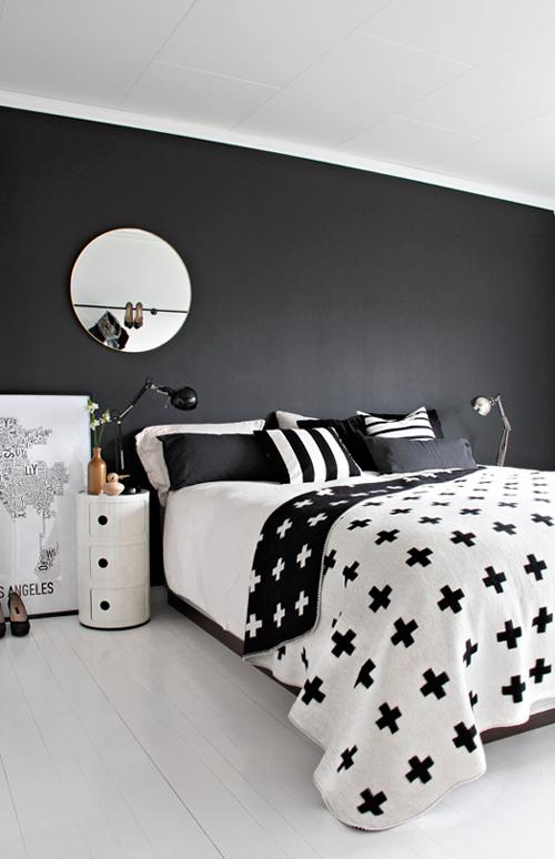 stylizimoScandinavian-bedroom-black