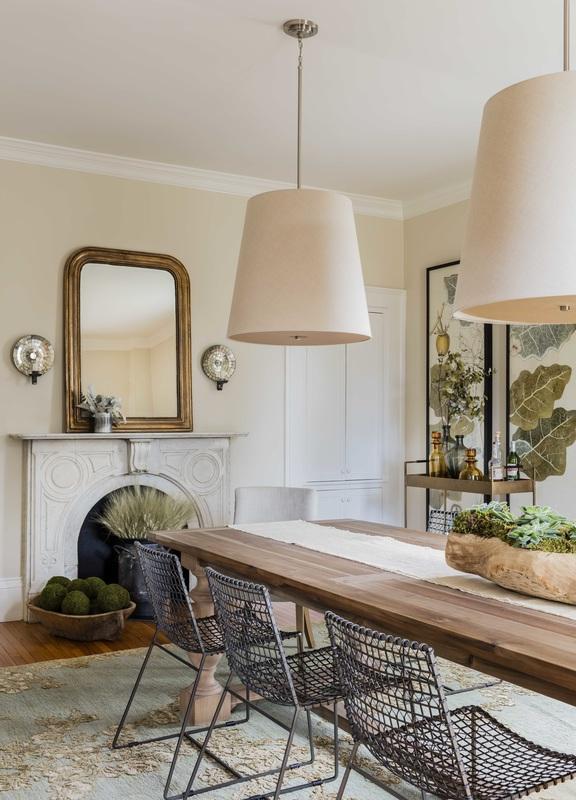 Dining Room Oversize Pendants