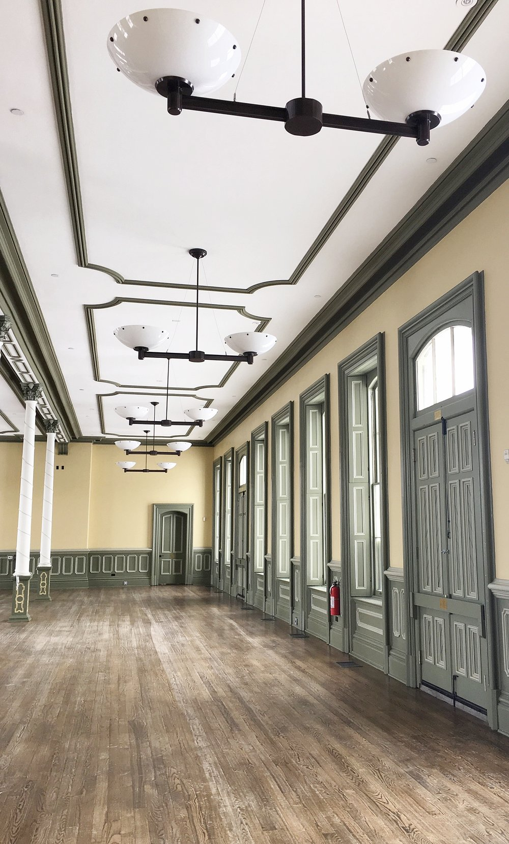 The CASO Station is a gorgeous building in downtown St. Thomas, one of the true architectural gems in the city, and the Anderson Room inside is a truly unique space for community events and wedding receptions.