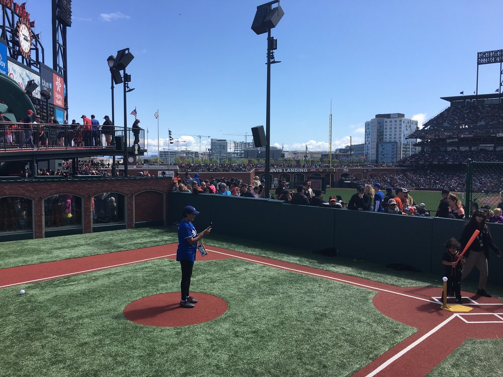 This little baseball park for young kids is a cool example of how a small space can be designed for maximum effect. What if some of our park spaces in downtown St. Thomas included facilities like this? Make the downtown fun and bring out the kids!