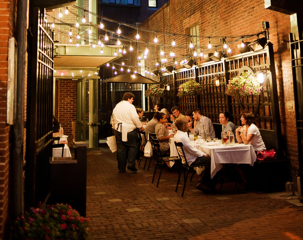 Russell House Tavern - Top notch food, indoor and outdoor seating, and fully accessible. What else could you want?