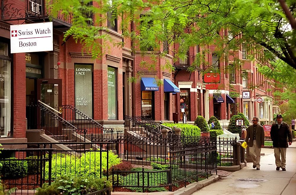 Newbury Street - Stroll through elegant brownstones at your own pace