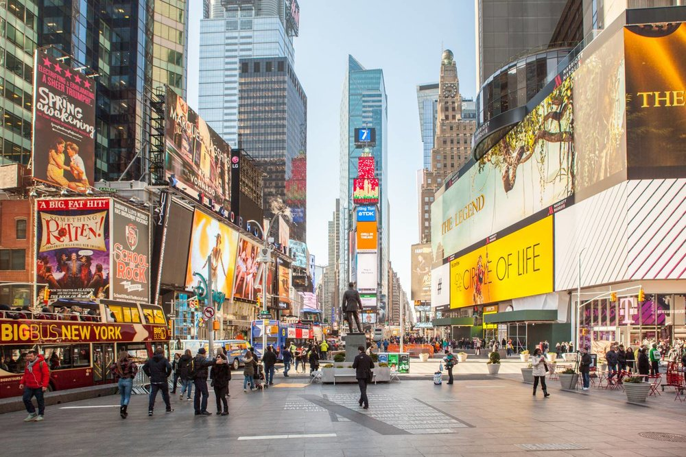 TravelEZ NYC: Times Square - The World's Crossroads May Be Crowded, But We Have the Perfect Guide for You.