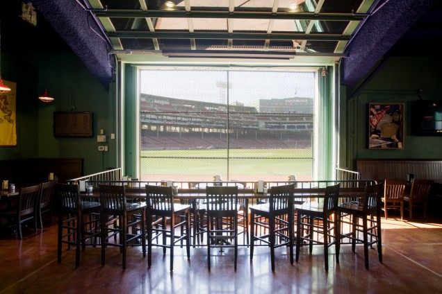Bleacher Bar - What Better Way to Check Out Fenway Park than from a Field Level Bar