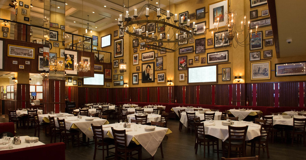 Carmines - The classic, spacious, mouth watering Italian restaurant smack-dab in the middle of Times Square.