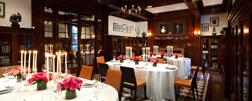 The Lambs Club - Times Square's most elegant eatery.