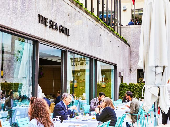 Sea Grill - Accessible and at the heart of Rockefeller Center.