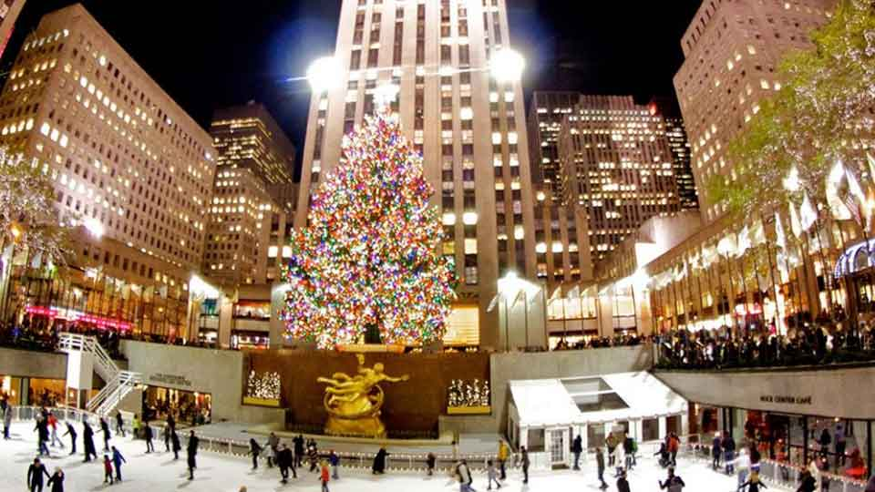 Rockefeller Ice Rink - Christmas in NYC is nothing without this tradition.
