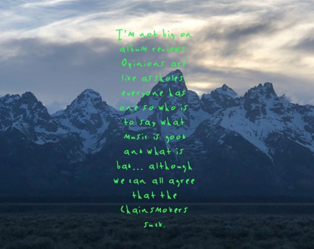 "Roundtable Album Review: Kanye West's ""ye"""
