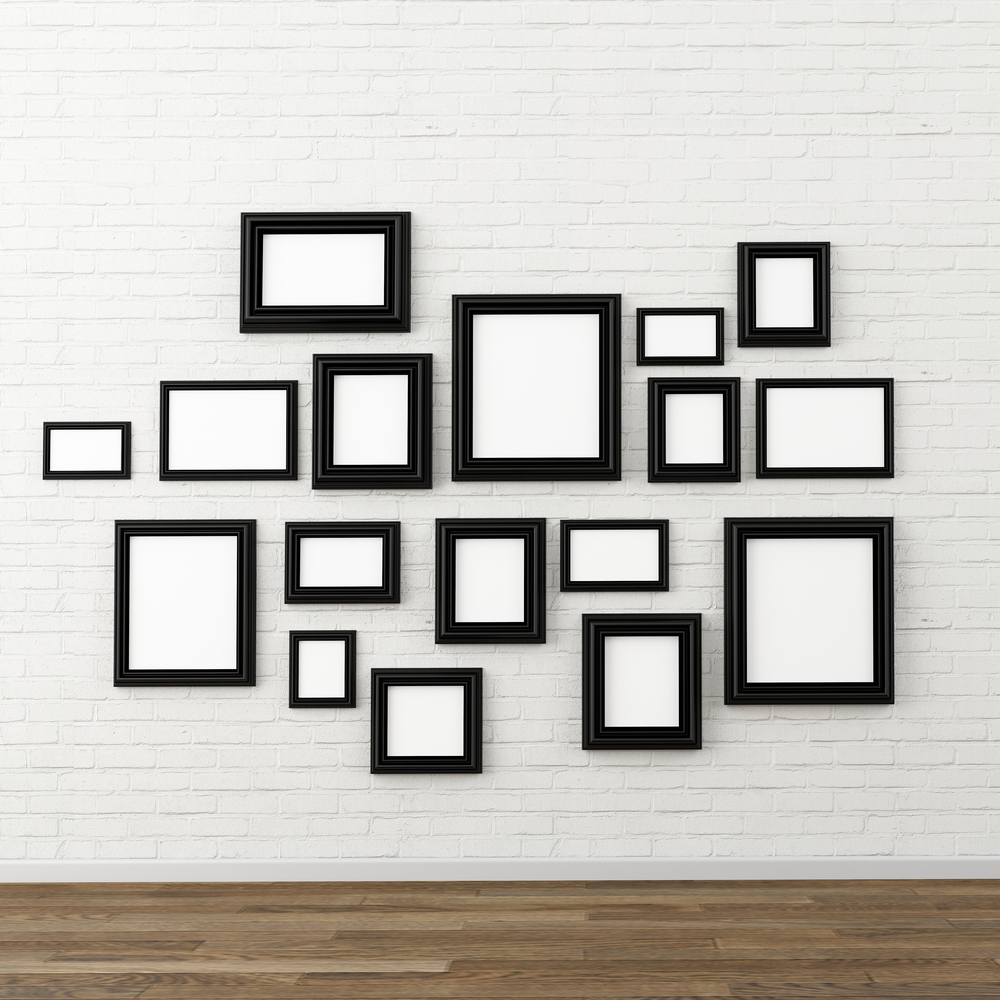 Black-frames-on-wall
