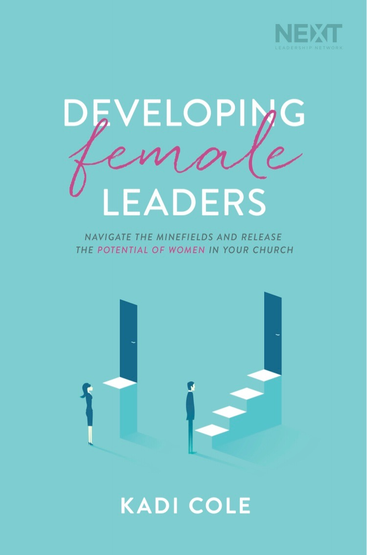 NEW BOOK! - LEARN MORE ABOUT KADI'S LATEST BOOK AND PASSION PROJECT: HELPING FAITH BASED ORGANIZATIONS DO A BETTER JOB DEVELOPING FEMALE LEADERS.
