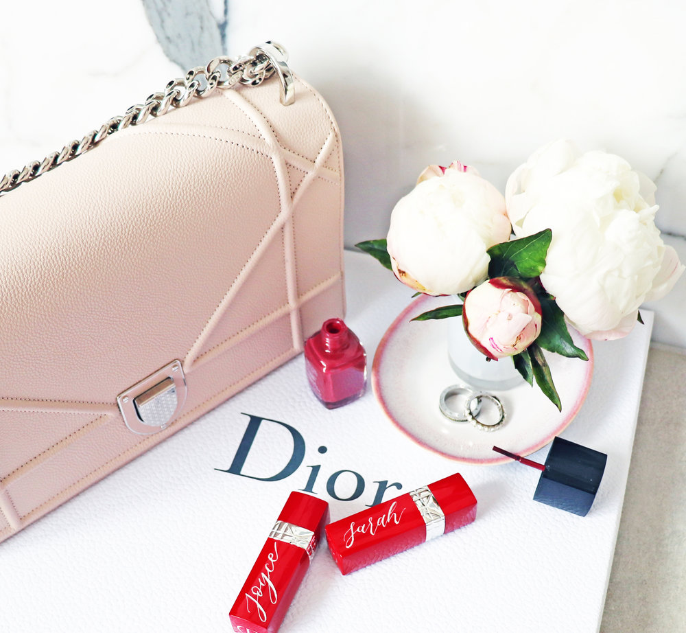 Dior: Engraved personalised lipstick cases