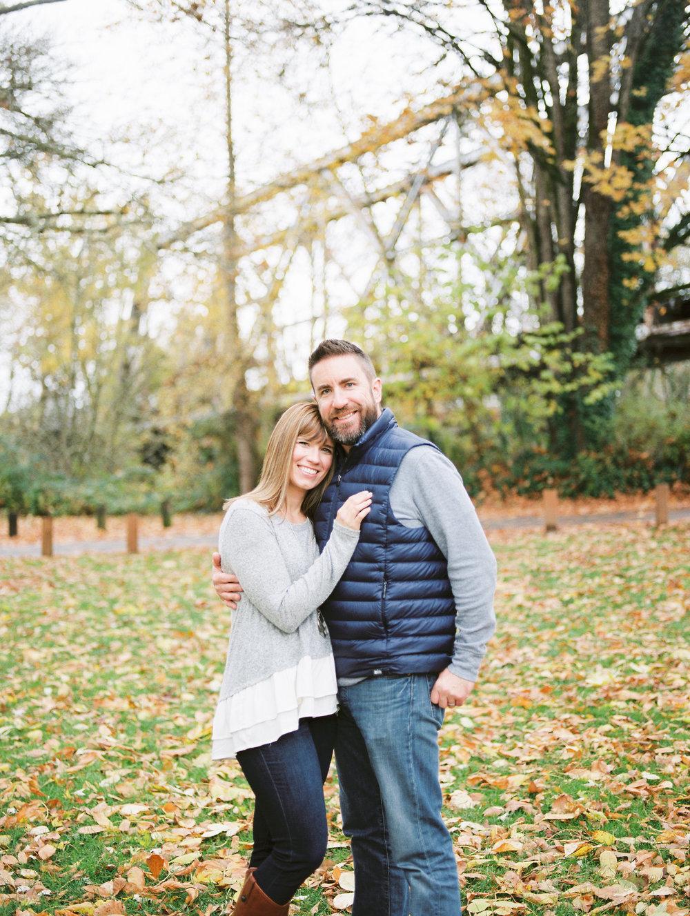 Oregon Wedding Photographer Family Portraits In Albany Oregon