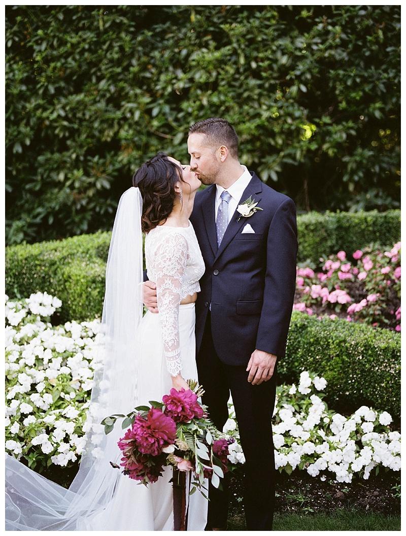 Lewis & Clark College Portland Oregon Wedding
