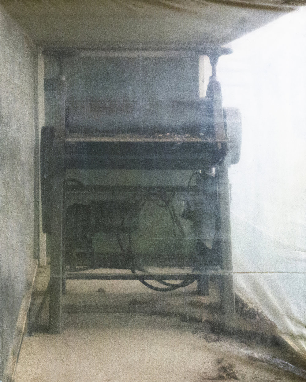 ETCHING PRESS (detail)