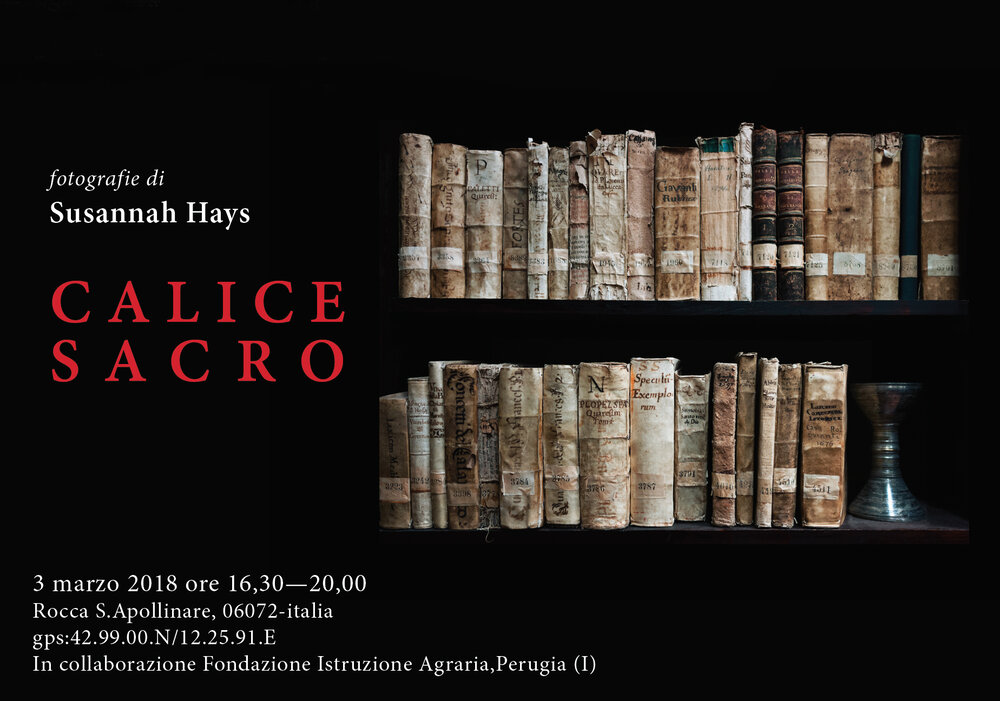 CALICE SACRO EXHIBITION 2018