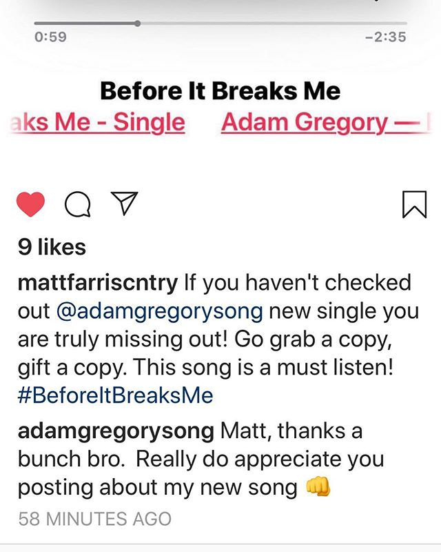 Sure is nice to get this kinda feedback.  Thanks @mattfarriscntry for the plug👊.