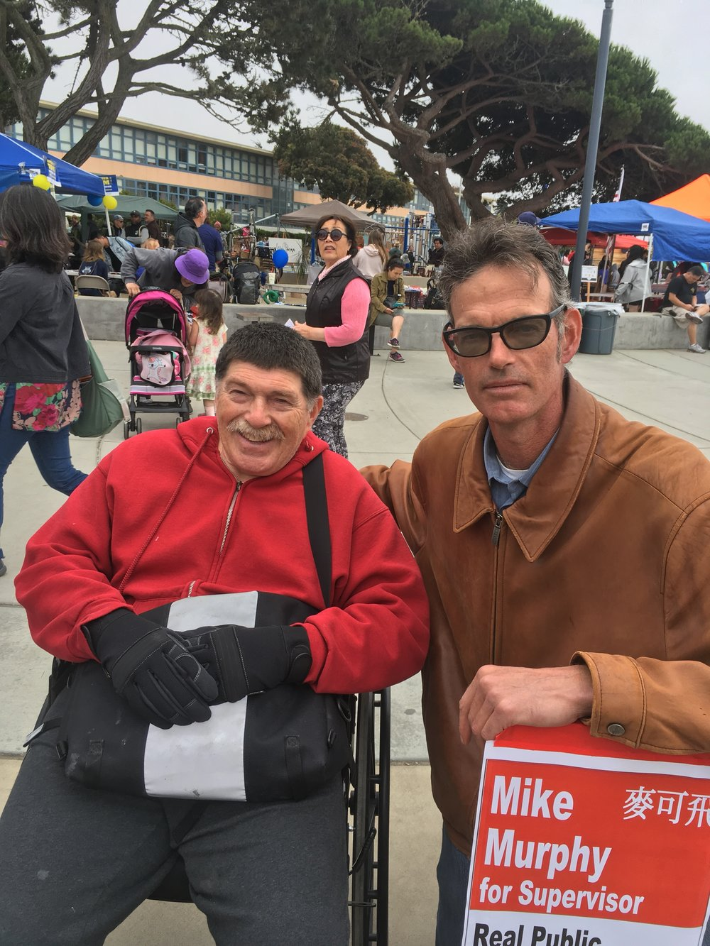 I'm humbled and honored to have the personal endorsement of George Wooding, President of the    Coalition for San Francisco Neighborhoods.     Like George and CSFN, I have fought and will continue to fight to protect our unique San Francisco neighborhoods.