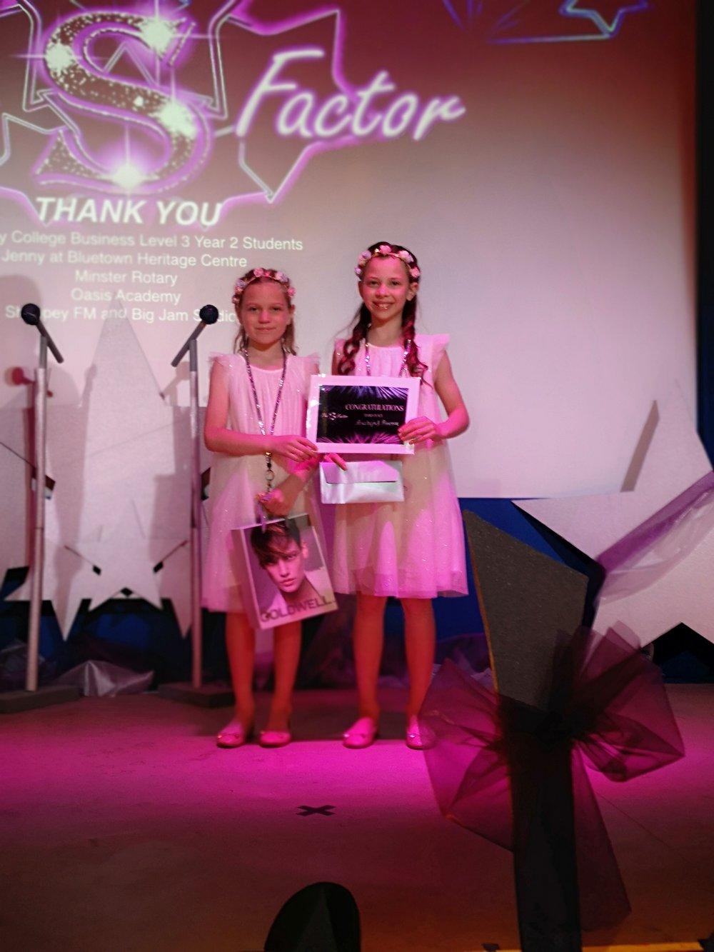 Austeja Neringa and Primrose Gray Third Place Winners!