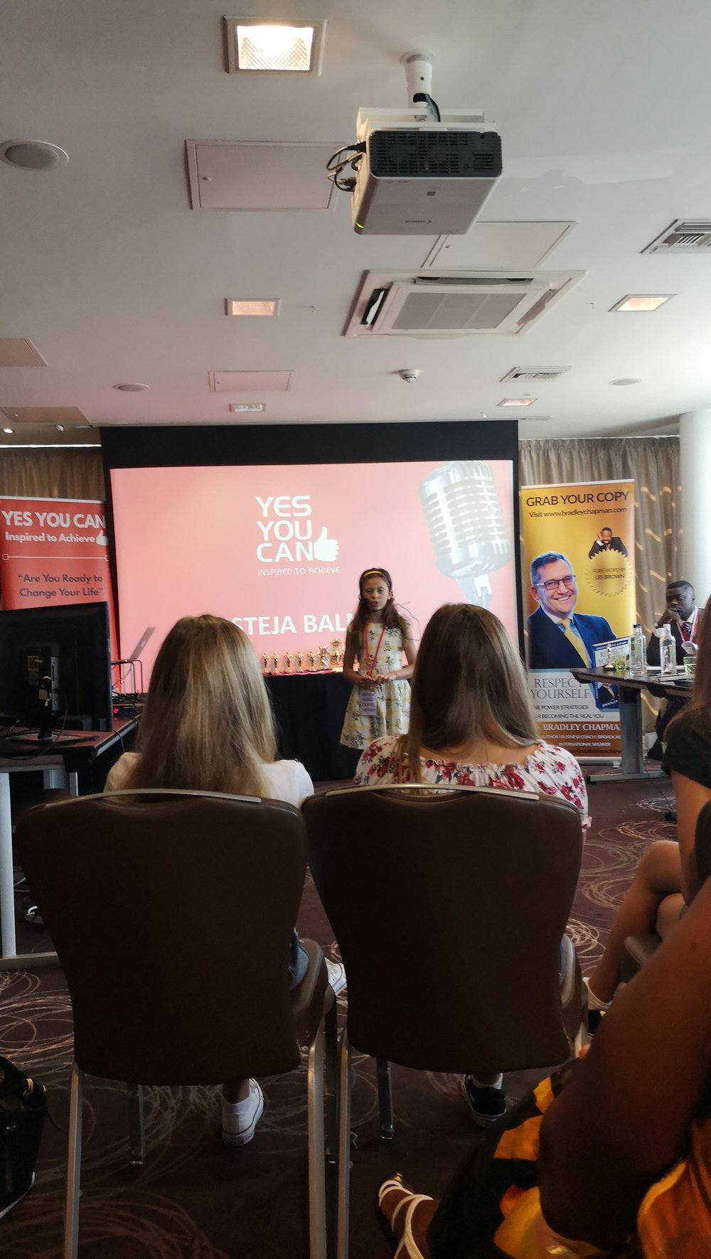 Austeja Neringa Speaking at Yes You Can Inspired To Achieve Speakers Awards