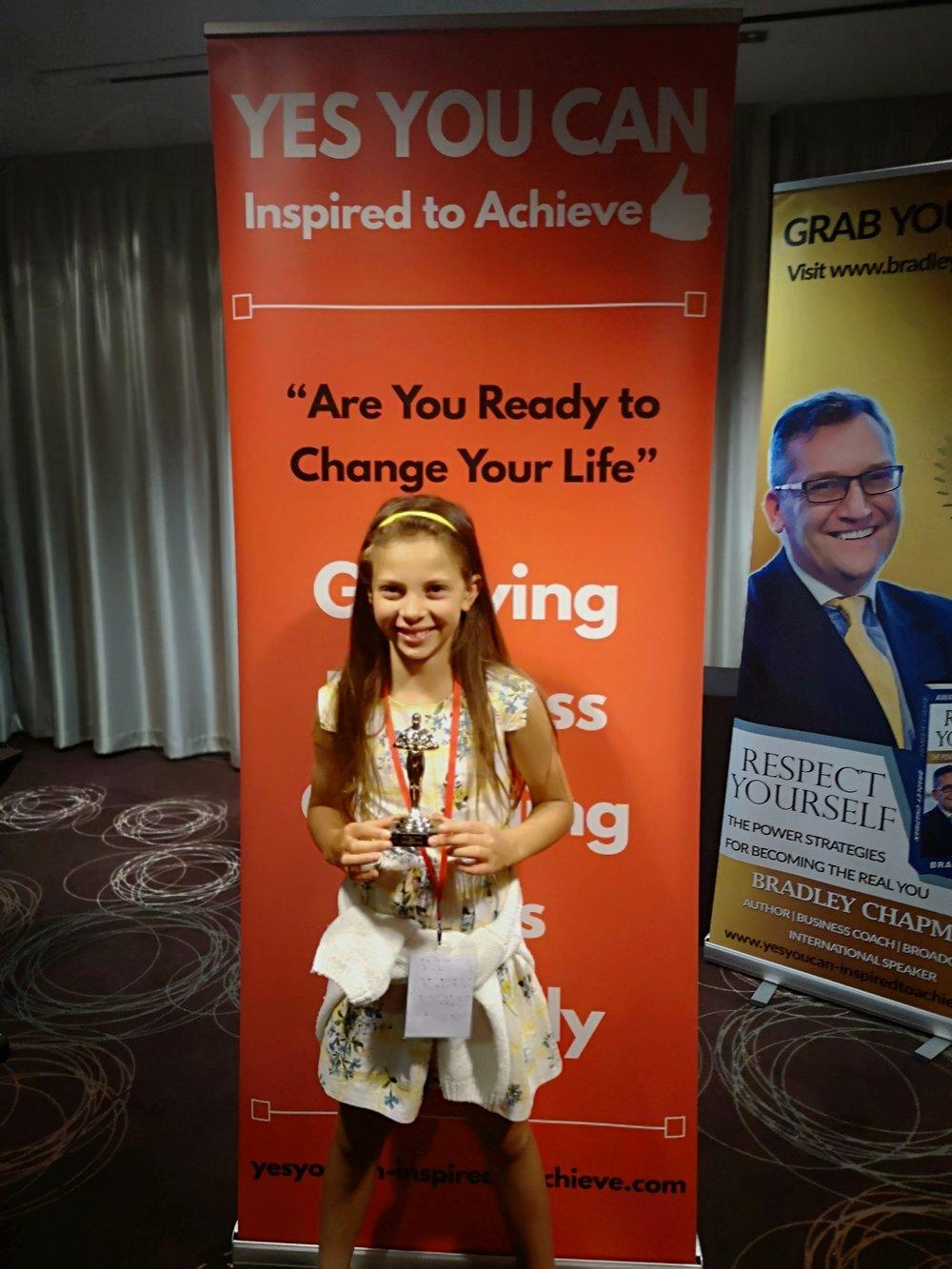 Austeja Neringa an Award Winnign Speaker