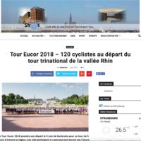 Tour Eucor 2018 – 120 cyclistes au départ du tour trinational de la vallée Rhin - Stras Actu, 05.06.2018