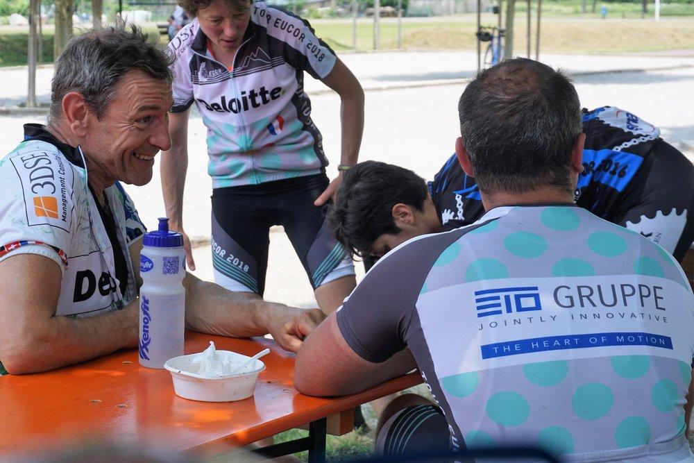 COOPÉRATION - Le tour Eucor n'est possible que grâce au soutien de nos nombreux sponsors.