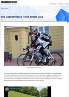 Wir unterstützen die Tour Eucor 2016 - Mehrwerk, 09.06.2016
