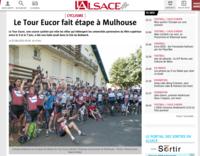 LE TOUR EUCOR FAIT ÉTAPE À MULHOUSE - L'Alsace, 07.06.2015