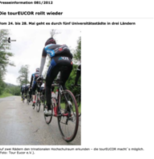Die tourEUCOR rollt wieder - KIT Pressestelle, 16.05.2012