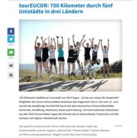 700 Kilometer durch fünf Unistädte in 3 Ländern - ka-news, 29.05.2011