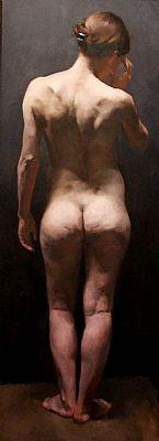 Nicholas Robinson Standing Nude web