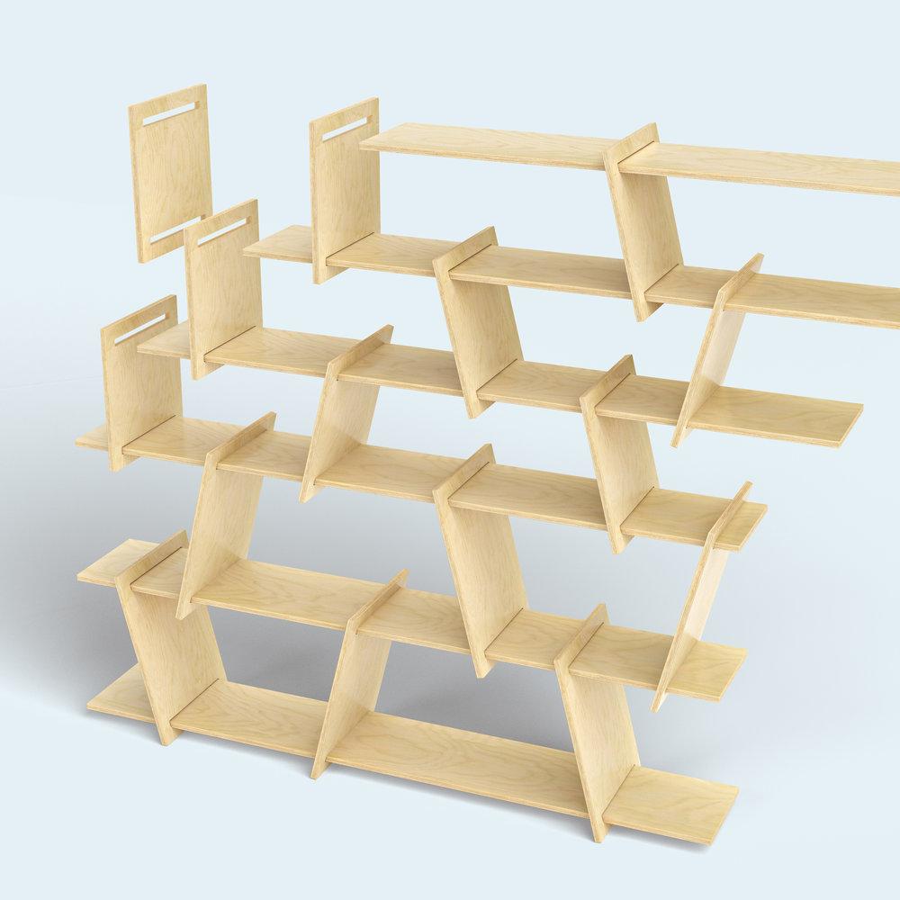FIT_Furniture-Italic_Shelf_exploded-Ronen_Kadushin