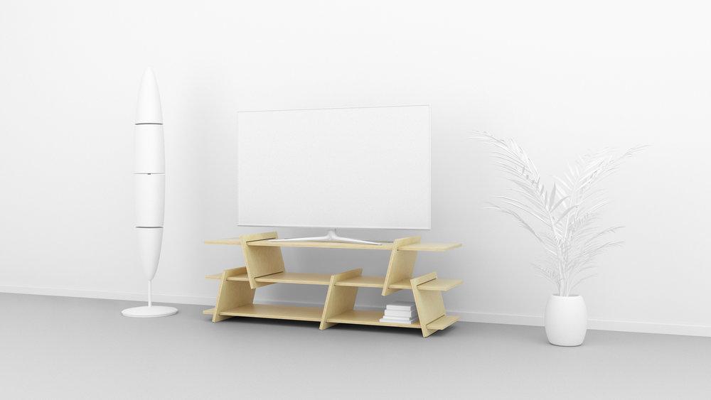 FIT_Furniture- Italic_TV_console-Ronen_Kadushin