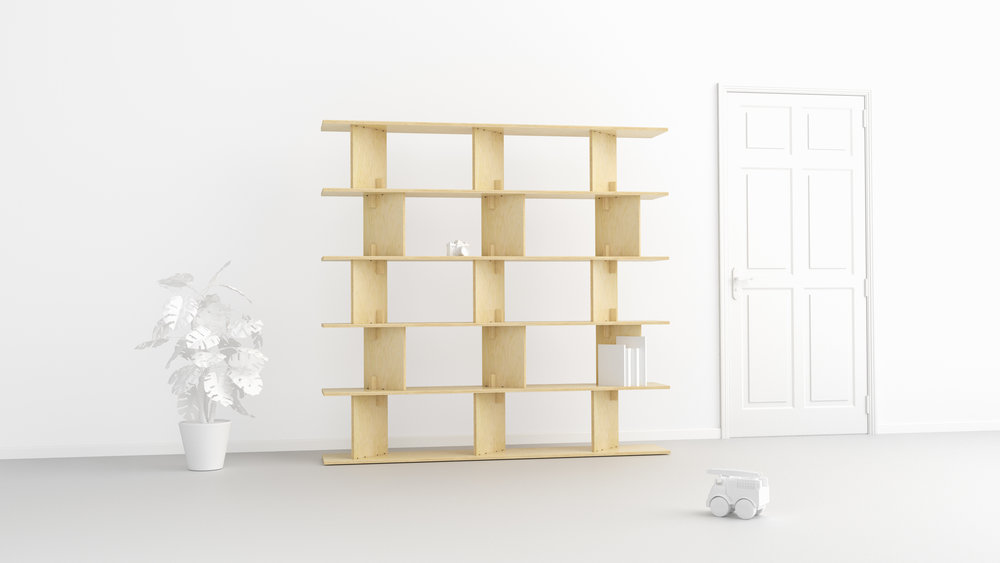 Neubau shelf