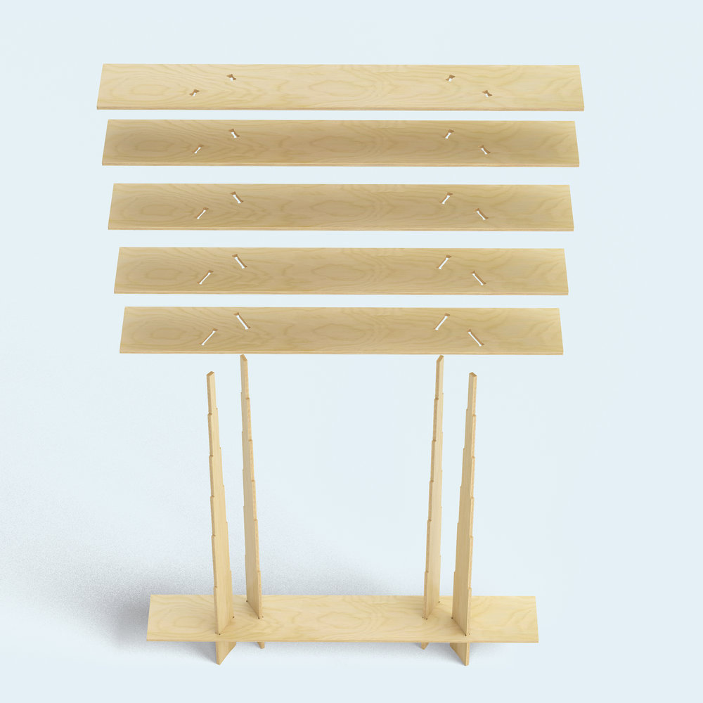 Italic shelf_ Ronen Kadushin_FIT-furniture.com