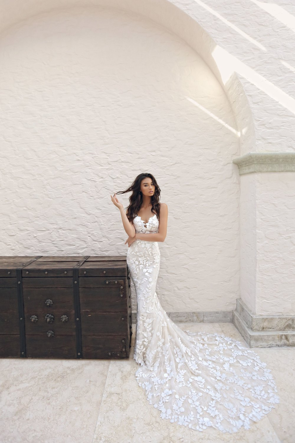 Enzoani 2019 - Our Blue by Enzoani collection is available to try on at White Bride now. Click to see more about Enzoani.