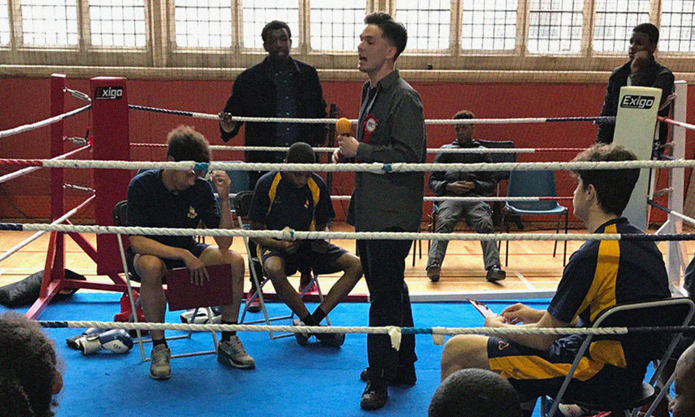 Debate boxing - Designed as a behavioural intervention for disengaged pupils who are at risk of exclusion, this programme combines verbal and physical training to help channel their energy and skills.