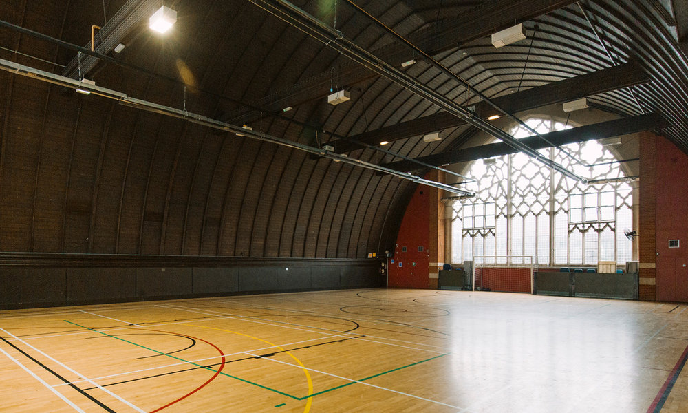 The Hall - As the main feature of the building, this stunning space is perfect for all your sporting needs, or as a beautiful backdrop for your next private event.