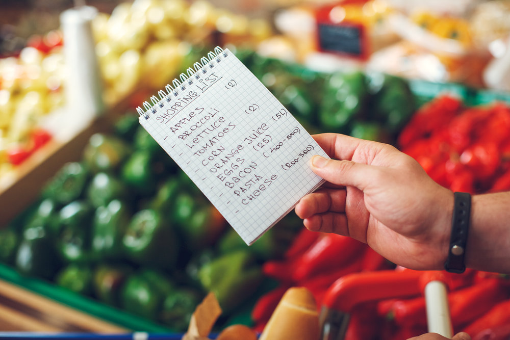 PLAN - Planning saves. It helps you to stretch food across a week and only buy what you need. A minute of plan-making will save hours of fussing over what to eat.