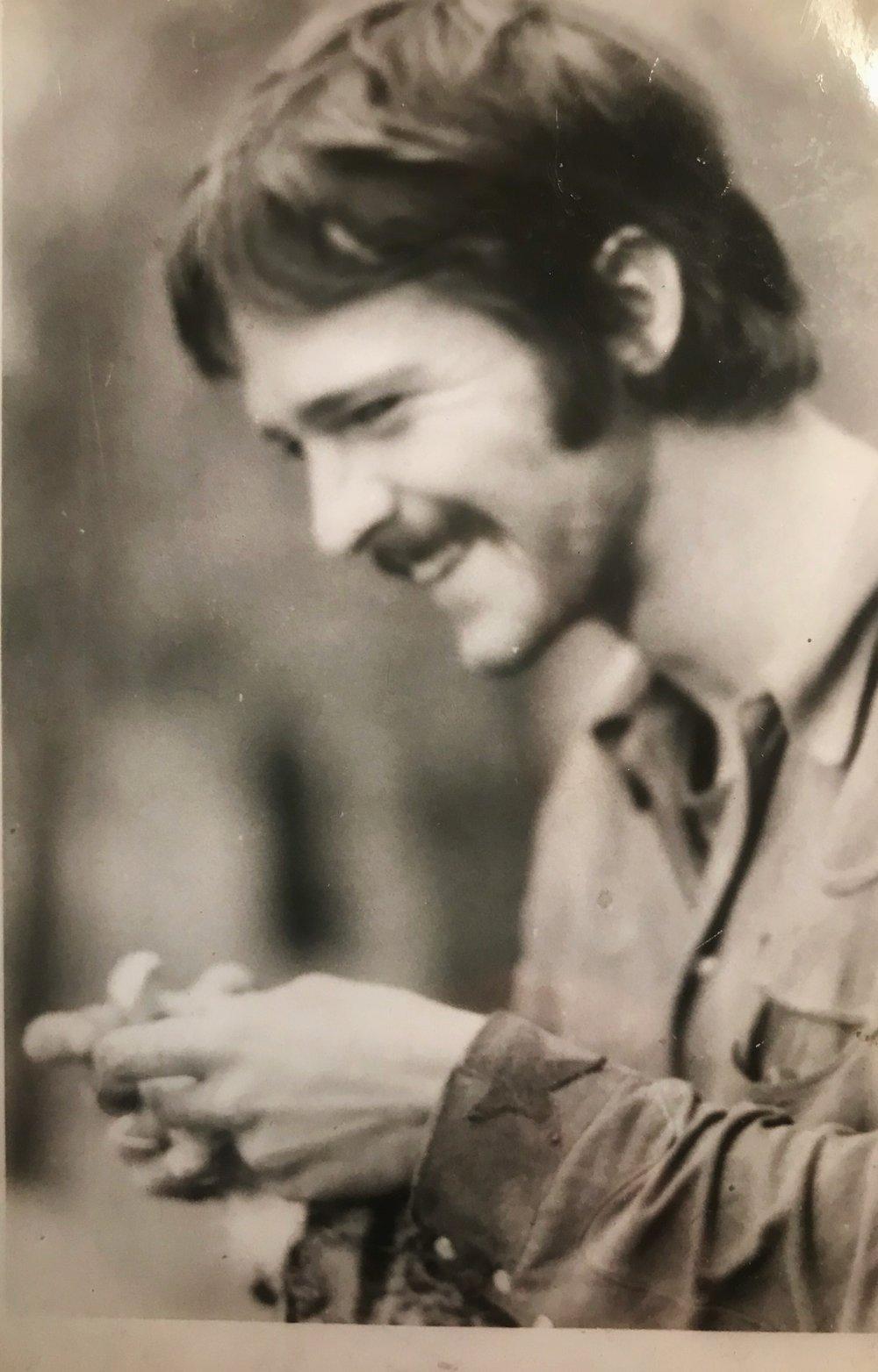 Don on Wedding Day, 1970.