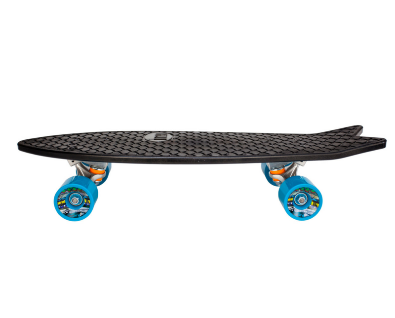 Bureo - AHI - PERFORMANCE CRUISER SKATEBOARDBUREO supply skateboards, sunglasses, jenga and more, all made from recycled fishing nets. An estimated 8 million tonnes of plastic ends up in our oceans every year. Of all the garbage in the ocean about 46% of that is discarded fishing nets, which have been found to be four times more harmful than all other forms of plastic pollution. Bureo's programs provide a tangible solution to prevent this harmful material from entering our oceans.HOW THEY GIVE BACKOver 185,000kg of NetPlus materials have been collected to date from 26 participating communities in Chile. These collections have financed seven community projects supporting sustainable development in coastal communities.Bureo also provides contributions to non-profit partners through the 1% For The Planet Network, and remains actively involved in the global fight against plastic pollution.CLICK HERE TO VIEW