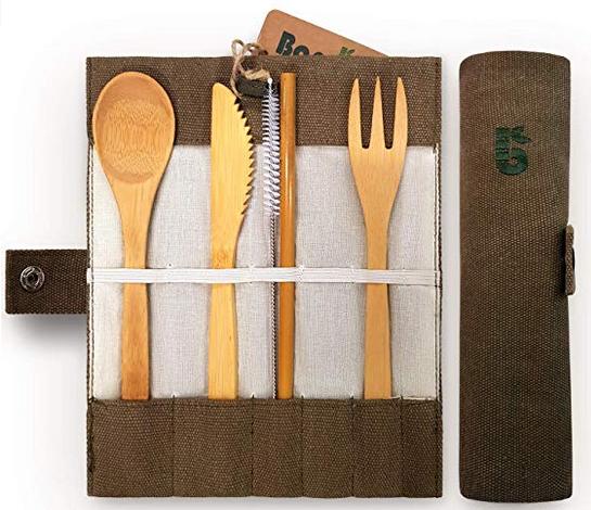 Bambaw Bamboo Reusable Cutlery Set
