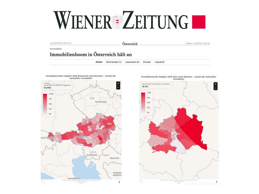 Immobilienboom in Österreich - Wiener Zeitung