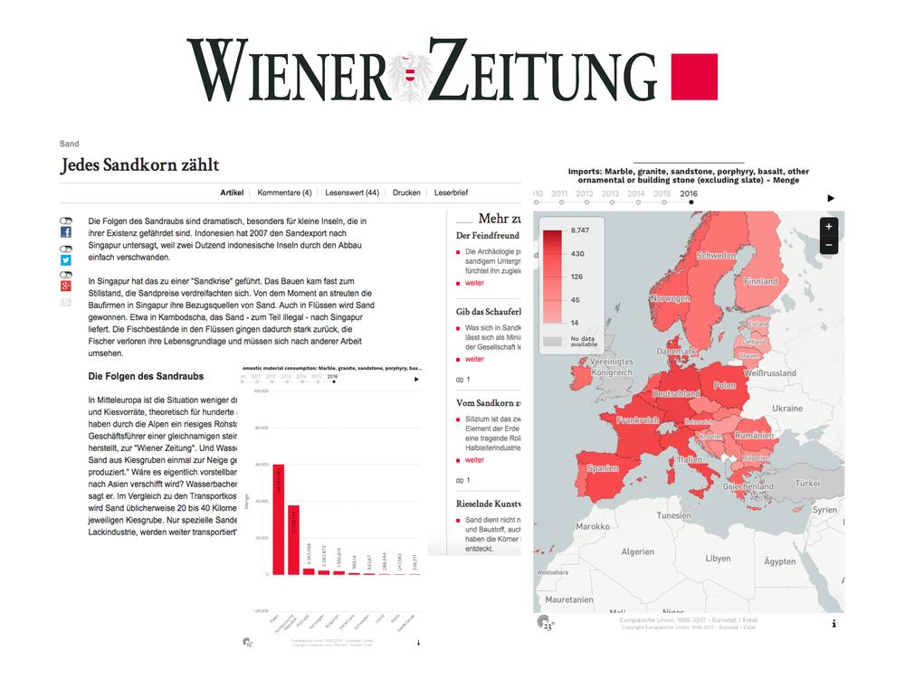 Jedes Sandkorn zählt - Wiener Zeitung