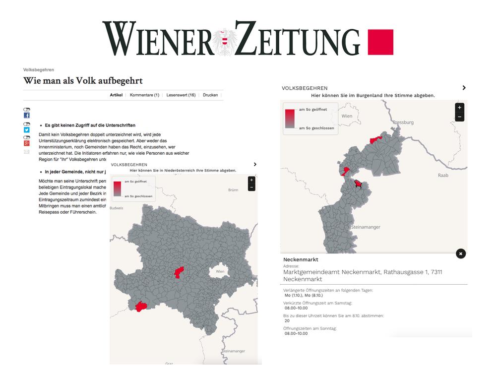 Wie man als Volk aufbegehrt - Wiener Zeitung