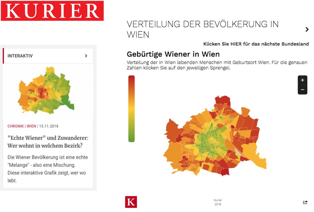 Wiener Melange – Wer wohnt in welchem Bezirk? - Kurier