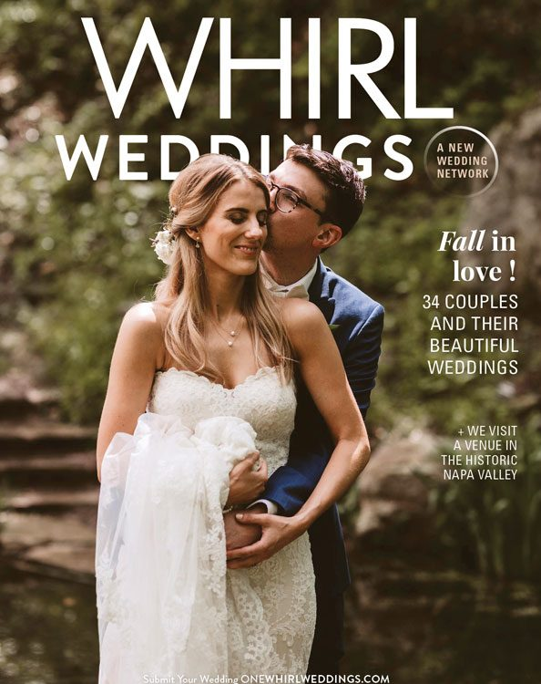 Our Bride featured on the cover of Whirl!