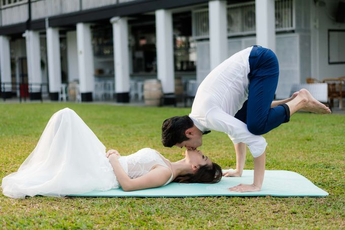 Matrimonial Yoga - Yes, we will keep you and your wedding party sane :)